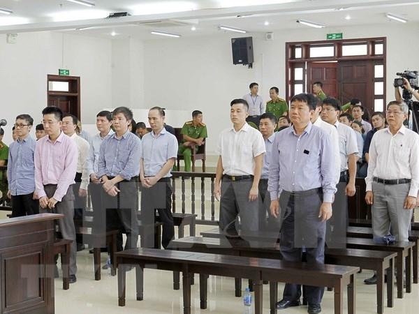 Mantienen sentencia de 13 anos de carcel contra Dinh La Thang por violaciones en PVC hinh anh 1