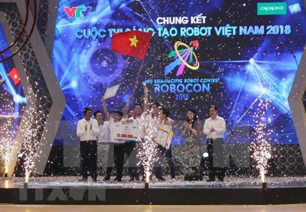LH-ATM gana Concurso de Robotica de Vietnam 2018 hinh anh 1