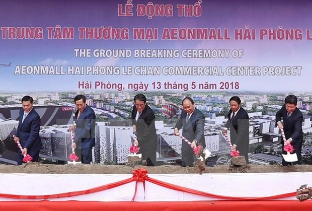Premier vietnamita destaca respaldo de Japon a proyecto de desarrollo hinh anh 1