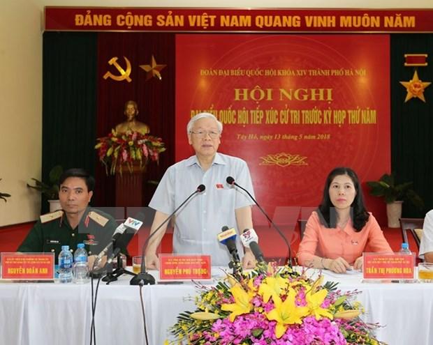 Dirigente partidista vietnamita subraya importancia de prevencion contra corrupcion hinh anh 1