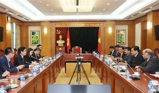 Estado indio de Assam busca oportunidades de negocios en Vietnam hinh anh 1