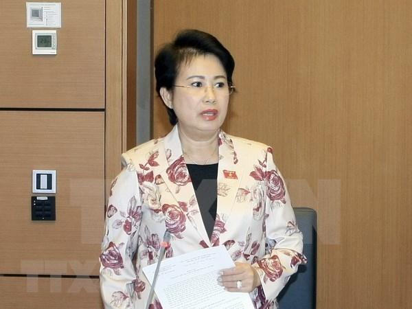 Parlamento de Vietnam aprueba renuncia de diputada por violaciones hinh anh 1