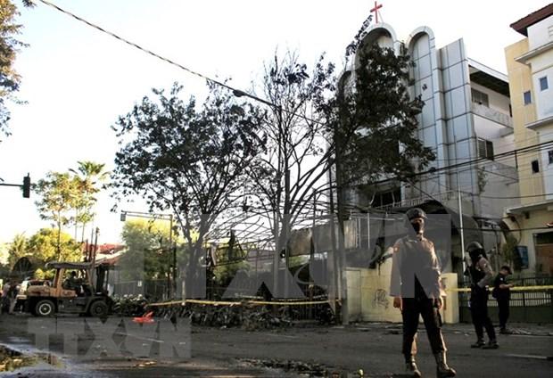 Secretario general de la ONU condena atentados terroristas en Indonesia hinh anh 1