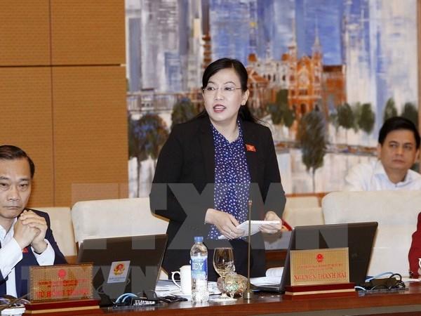 Comite Permanente del parlamento analiza solicitudes de votantes hinh anh 1