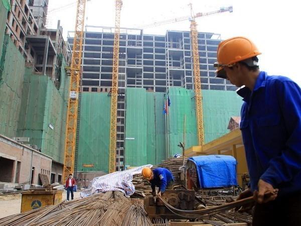 Empresa constructora vietnamita proyecta ingresar 110 millones de dolares en 2018 hinh anh 1