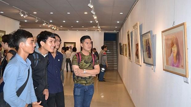 Celebran en Ciudad Ho Chi Minh exposicion internacional de acuarelas hinh anh 1