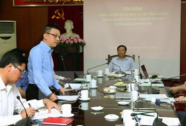 Buscan aumentar divulgacion de imagen de Vietnam en el mundo hinh anh 1