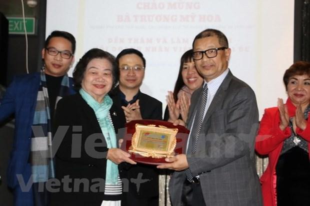 Vietnamitas en Australia conmemoran 30 anos de la batalla Gac Ma hinh anh 1