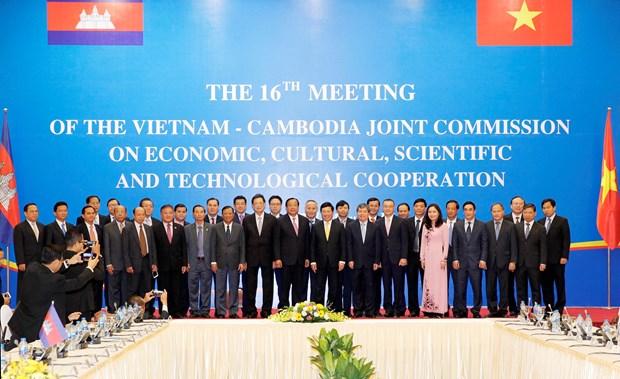 Vietnam y Camboya promueven una cooperacion plena y estable hinh anh 1