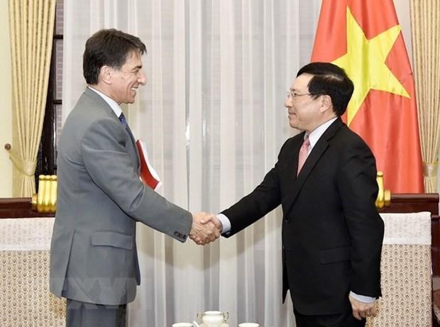 Profundizan relaciones de cooperacion entre Vietnam y Grecia hinh anh 1