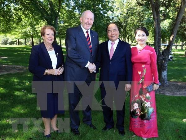 Gobernador general de Australia visitara Vietnam hinh anh 1