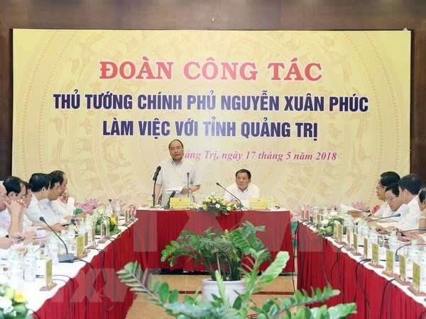 Premier de Vietnam insta a Quang Tri a impulsar reduccion de pobreza hinh anh 1