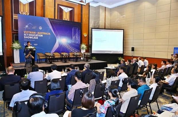 Vietnam y Australia intensifican cooperacion en capacitacion en TIC hinh anh 1