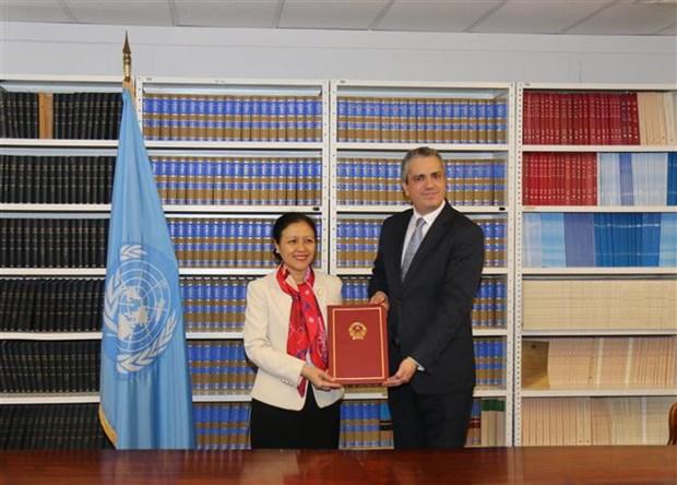 Vietnam ratifica el Tratado sobre Prohibicion de las Armas Nucleares hinh anh 1