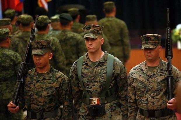 Filipinas y Estados Unidos clausuran los ejercicios militares Balikatan 2018 hinh anh 1