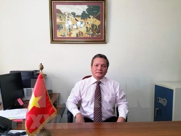 Rinden homenaje a Presidente vietnamita Ho Chi Minh en Argelia hinh anh 1