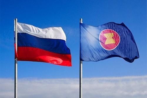 Participa Vietnam en reunion de altos funcionarios ASEAN- Rusia hinh anh 1