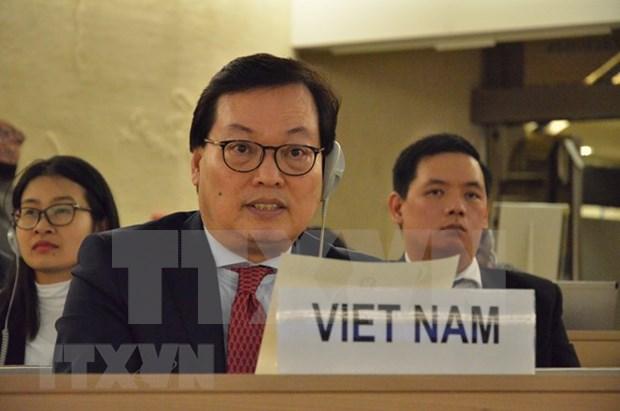 Vietnam destaca necesidad de cumplir con derecho internacional en solucion de asuntos relativos a Jerusalen hinh anh 1