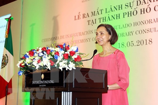 Inauguran Consulado honorario de Mexico en Ciudad Ho Chi Minh hinh anh 1