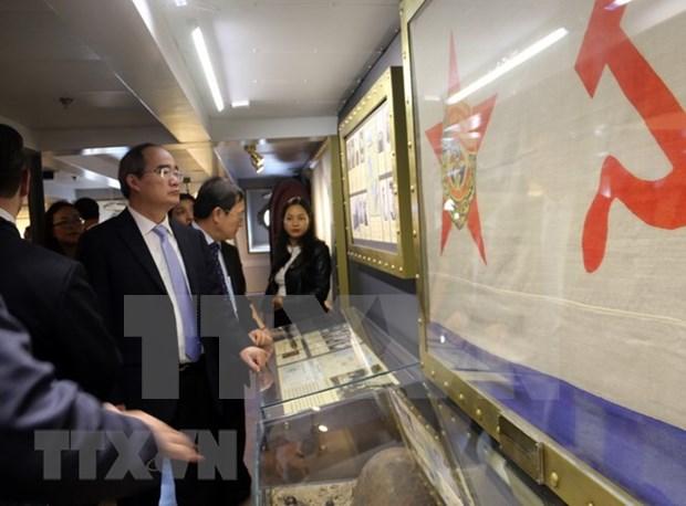 Dirigente de Ciudad Ho Chi Minh continua visita a Rusia hinh anh 1