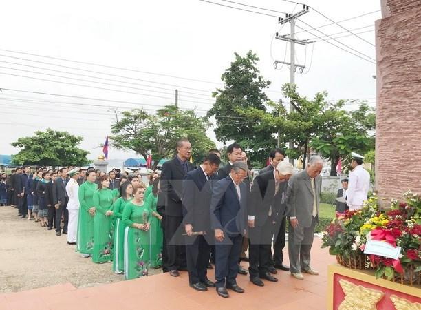 Destacan en Laos ejemplo moral del Presidente Ho Chi Minh hinh anh 1