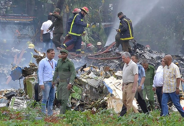 Cuba decreta duelo oficial por victimas de accidente aereo hinh anh 1
