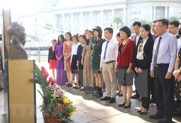 Celebran natalicio del Presidente Ho Chi Minh en diferentes ciudades del mundo hinh anh 1