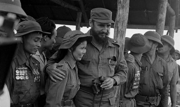 Recuerdan en Vietnam visita de Fidel Castro en 1973 hinh anh 1