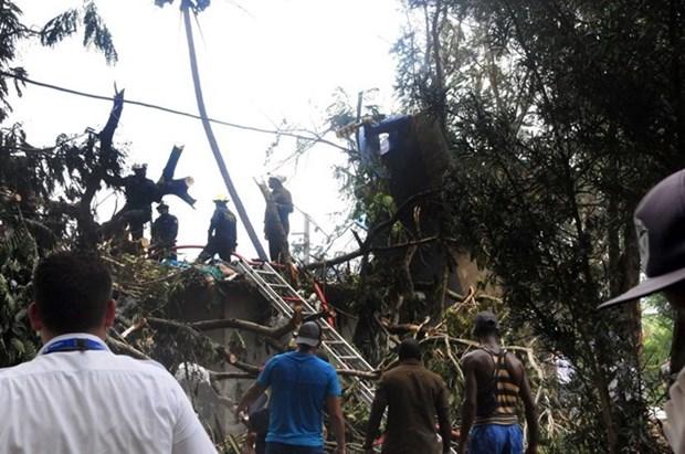 Elevan a 110 las victimas fatales en siniestro de avion en Cuba hinh anh 1