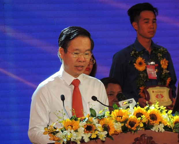 Honran a jovenes destacados en seguimiento de las ensenanzas del Tio Ho hinh anh 1