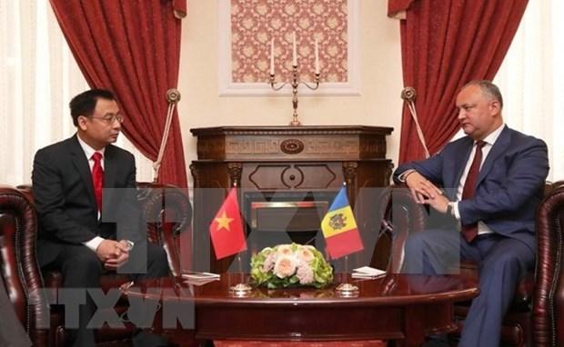 Moldavia busca impulsar la cooperacion multisectorial con Vietnam hinh anh 1