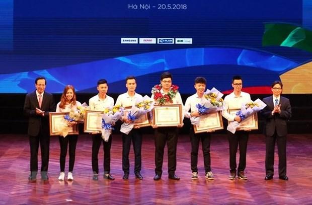 Honran a trabajadores calificados vietnamitas en competencias de habilidades hinh anh 1