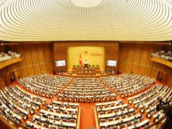 Inauguran el quinto periodo de sesiones de la Asamblea Nacional de Vietnam hinh anh 1
