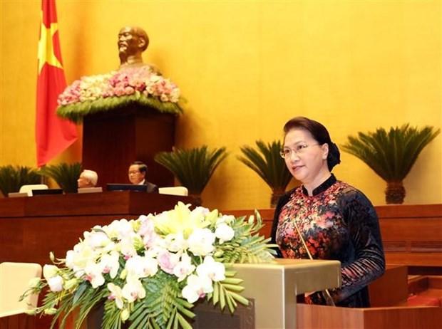 Parlamento aprobara ocho proyectos de ley durante quinto periodo de sesiones hinh anh 1