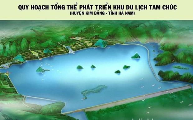 Aprueban plan de desarrollo del Area de turismo Tam Chuc hinh anh 1