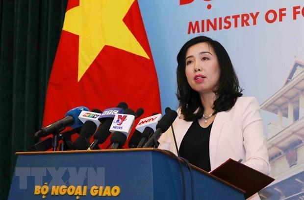 Vietnam exige a China poner fin a ejercicios de aviones bombarderos en Hoang Sa hinh anh 1