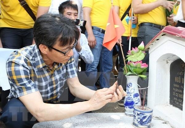 Vietnam impulsa proyecto del sitio web sobre martires nacional hinh anh 1