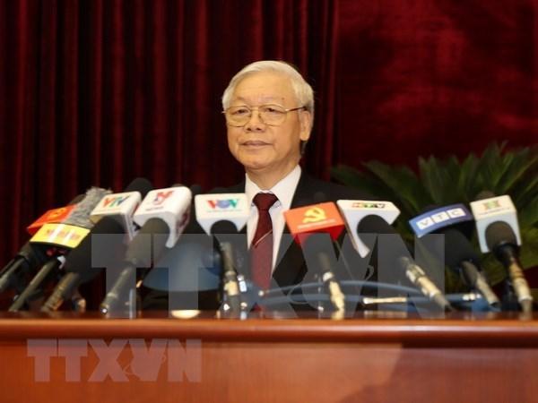 Partido Comunista de Vietnam se enfoca en construir un contingente de funcionarios idoneos hinh anh 1