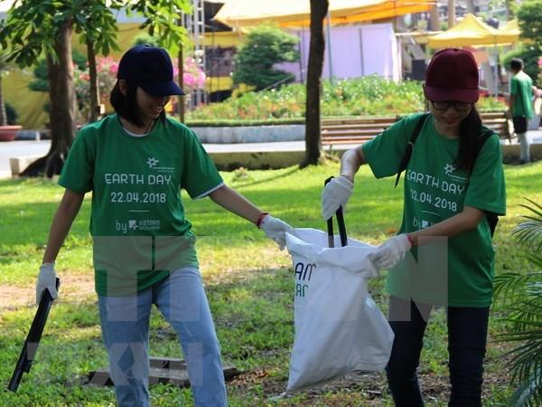 Vietnam se suma al Dia Global de los Voluntarios hinh anh 1