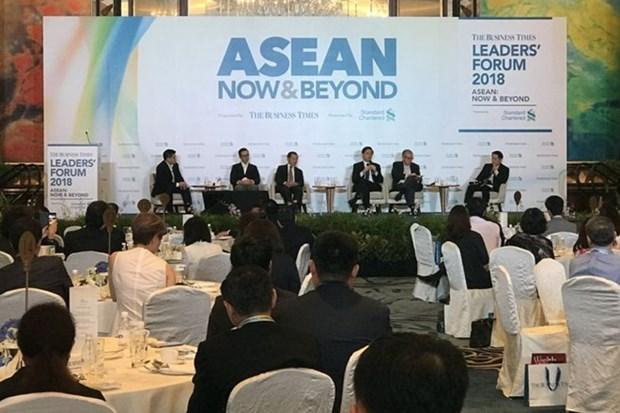 Singapur exhorta a la ASEAN a unirse contra el proteccionismo hinh anh 1