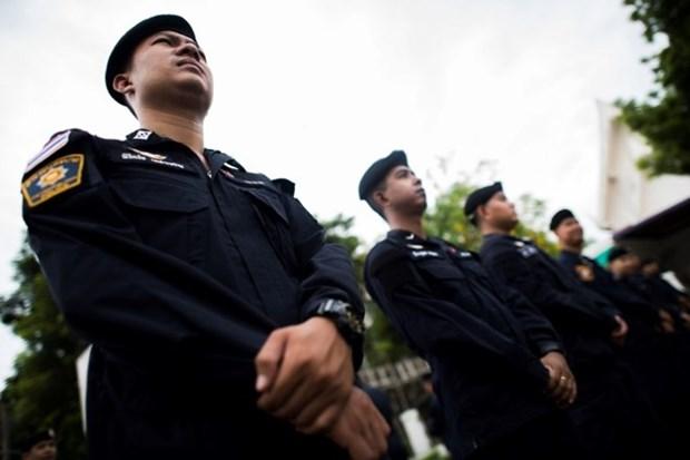 Policia de Tailandia prohibe manifestaciones cerca de la jefatura de la junta militar hinh anh 1