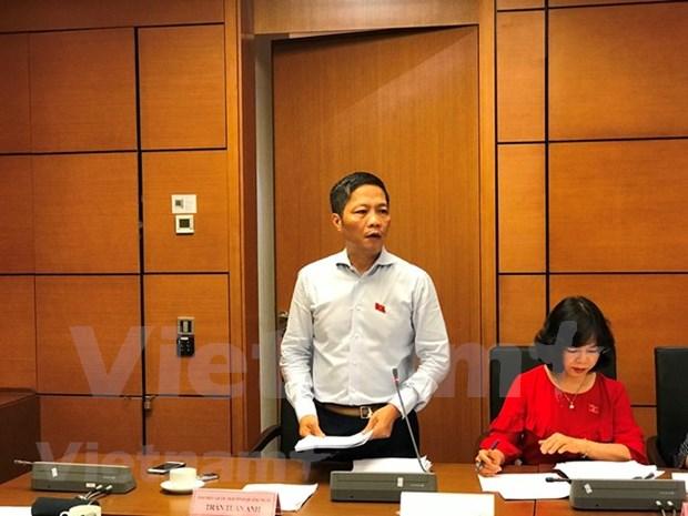 Parlamento de Vietnam concluye segunda jornada de su quinto periodo de sesiones hinh anh 1