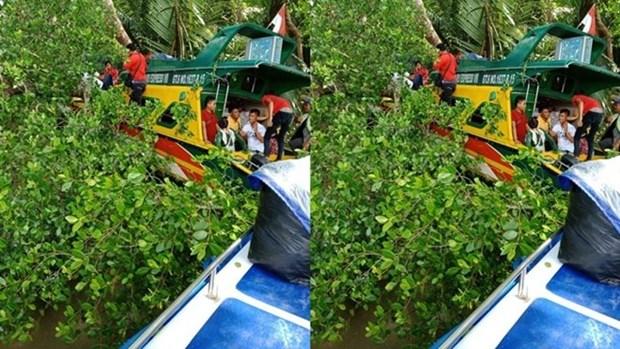 Cinco personas murieron por choque de lancha en Indonesia hinh anh 1