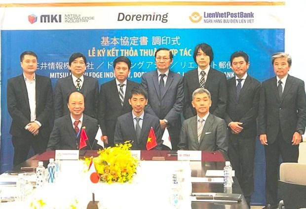 Banco vietnamita LienViet Post Bank amplia cooperacion con contrapartes japonesas hinh anh 1