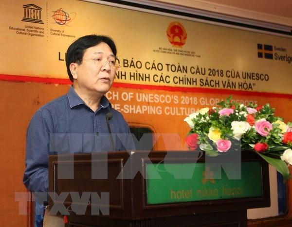 Presentan en Vietnam informe global de la UNESCO sobre reorganizacion de politicas culturales hinh anh 1