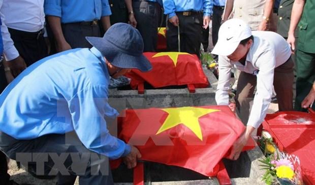 Gia Lai: Riden homenaje postumo a combatientes vietnamitas caidos en Camboya hinh anh 1