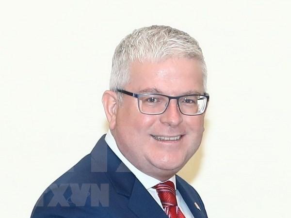 Visita del gobernador general de Australia evidencia que relaciones con Hanoi son prioridad hinh anh 1