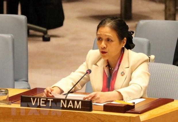 Vietnam condena todos los actos de violencia y abusos contra civiles hinh anh 1
