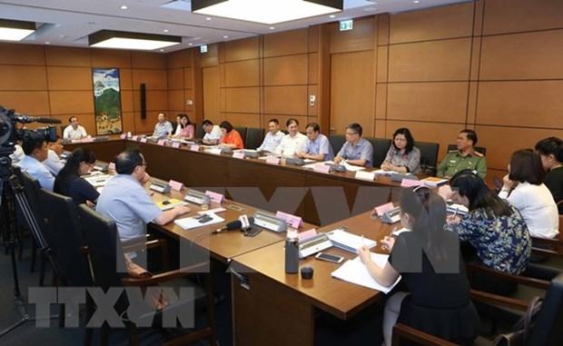 Parlamento de Vietnam continua su quinto periodo de sesiones hinh anh 1