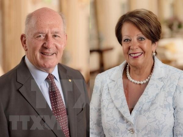 Gobernador general de Australia inicia visita estatal a Vietnam hinh anh 1